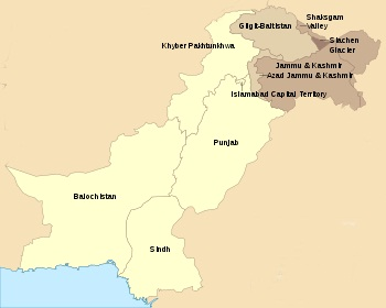 Area of Pakistan